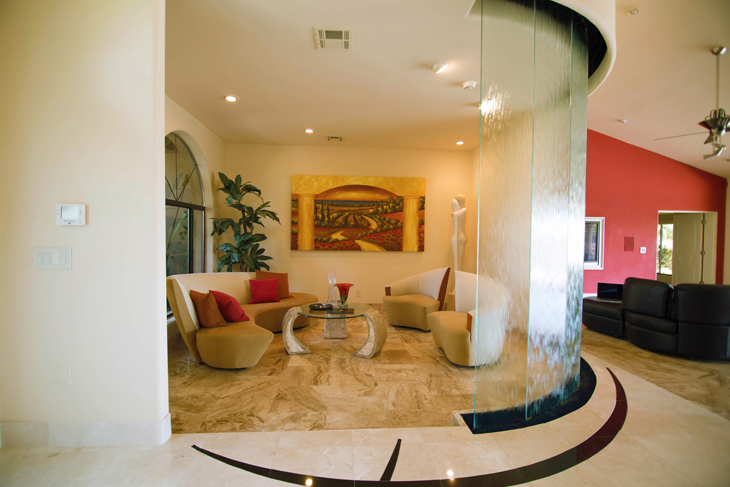 Scottsdale Luxury Home Formal Living Room