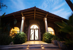 Scottsdale Luxury Home Front Elevations