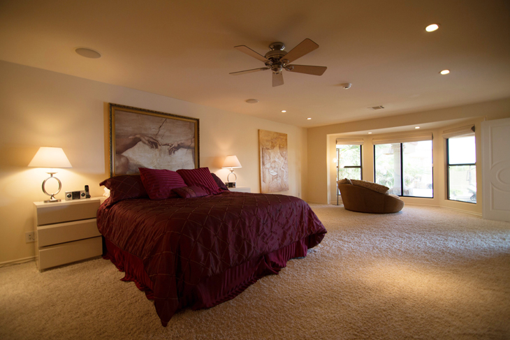 scottsdale luxury home master bedroom - Luxury Homes Master Bedroom